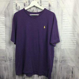 Polo Ralph Lauren Purple T-Shirt Men's Large